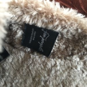 Free People Shoes - Free People Faux Fur Mules